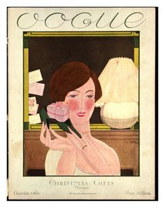 §§§ : Vogue Cover : December 1924  by Georges Lepape