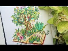 Magical Jungle Coloring Book | A Jungle Book (part II) | Selva Magica - YouTube