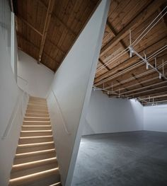 Image result for attic exhibition space  architecture