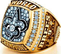 New Orleans Saints Super Bowl XLIV Ring