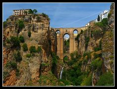Ronda, Spain. Rick Steves recommends it, so you know it's good.