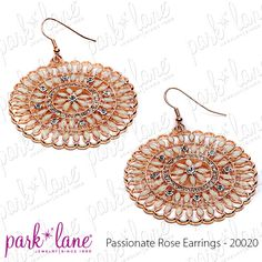 Passionate Rose Earrings