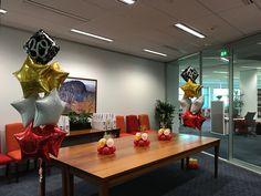 """30th Celebrations"" #celebrationballoons #30thballoons #act #cbr #canberraballoons #BalloonBrilliance"