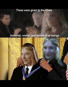 The hobbit 561261172316306922 Tolkien, Thranduil, Legolas And Gimli, Bilbo Baggins, Thorin Oakenshield, One Does Not Simply, O Hobbit, Funny Memes, Hilarious