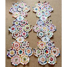 1/2 inch hexagons