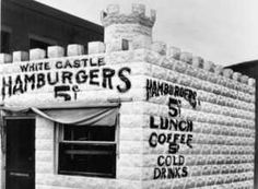 The first White Castle restaurant opened in Wichita, KS in 1921.