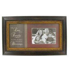Wooden Frame - Love of a Family