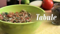 Como fazer Tabule (com Resíduos do Leite de Amêndoas)