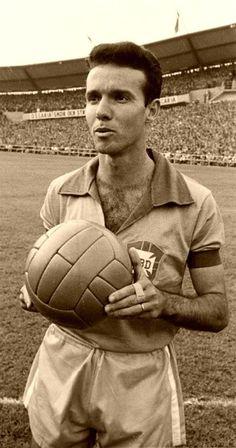 Seleção Brasileira · Mario Zagallo of Brazil at the 1958 World Cup Finals.  Botafogo Fr b96363cad35