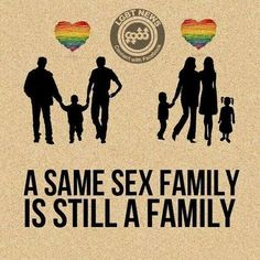 love makes a family! Equality Quotes, Lgbt Quotes, Qoutes, Lgbt Love, Lesbian Love, Rap, Lgbt News, We Are All Human, Lgbt Rights