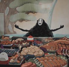 Studio Ghibli Films, Art Studio Ghibli, Manga Anime, Got Anime, Hayao Miyazaki, Chihiro Y Haku, Howls Moving Castle, My Neighbor Totoro, Animation