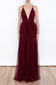 Shoptiques Product: Tulle Maxi Dress - main