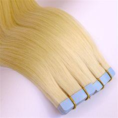 Was ist eigentlich die Tape in Haarverlängerung Methode   ECHTHAIR BLOG Tape In Extensions, Tassel Necklace, Hair Styles, Accessories, Instagram, Blog, Fashion, Thin Hair, Short Hair Up