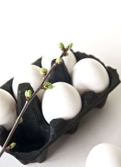 Black and white Easter inspiration
