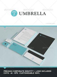 Umbrella Corporate Identity - GraphicRiver Item for Sale