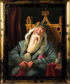 Albus Dumbledore - Harry Potter Moving Portraits on Behance Fantasia Harry Potter, Arte Do Harry Potter, Harry Potter Artwork, Harry Potter Drawings, Harry Potter Wallpaper, Harry Potter Universal, Images Harry Potter, Harry Potter Characters, Hogwarts