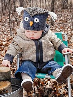 @Heather Lillie I know a little boy who might like this hat :) hmm his aunty Katie might have to make it for him...