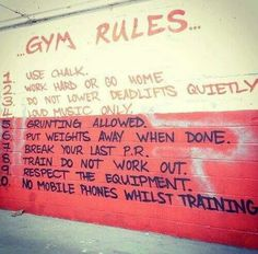 This is a real gym..