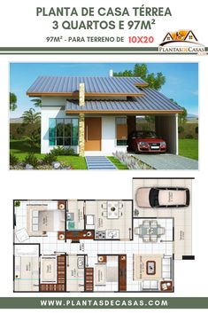 House design plan with 4 bedrooms - Home Ideas House Layout Plans, Dream House Plans, House Layouts, Small House Plans, Bedroom Closet Design, Interior Design Living Room, Simple House Design, Home Design Plans, Planer