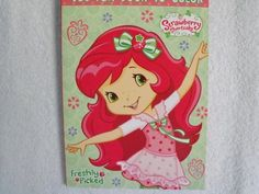 Strawberry Shortcake Big Fun Book To Color Freshly Picked 96 Pg By