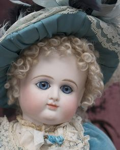 """19"""" (48 cm) Quality Antique reproduction French P.D. (Petit & from respectfulbear on Ruby Lane"""