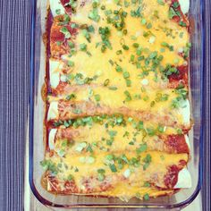 It has been awhile since I shared a Mexican recipe.  Mexican food is my happy place, absolutely love it.  These beef enchiladas are crazy good.  …