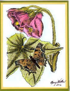 LaBlanche stamps make gorgeous cards.
