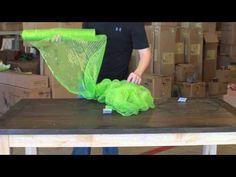 YouTube video on deco mesh wreaths