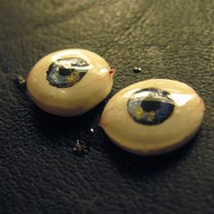 Learn how to make realistic doll eyes for ultimate customization and next to no expense. Page Three.