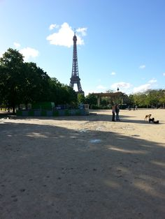 Another of my husband's shot to the Eiffel Tower