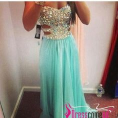 Custom Made Beaded Bodice Prom Dress,Sexy Prom Dress,Chiffon Prom Dress,Strapless Prom Dress Gown from DidoPromCustom on Etsy. Saved to Spring Prom Color. Pink Party Dresses, Prom Dresses Blue, Homecoming Dresses, Pretty Dresses, Sexy Dresses, Beautiful Dresses, Formal Dresses, Gorgeous Dress, Dresses 2014
