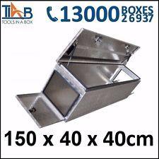 Aluminium Toolbox 3 Door Ute Truck Storage Trailer Tool Box Camper Caravan 1544