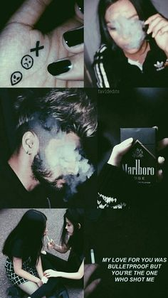 black, collage, smoke, wallpaper, zayn malik, lockscreen