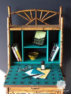 Painted Furniture Stencils - Spanish Lace Flower Patterns - Royal Design Studio