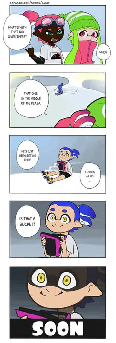 Splatoon: Buckets o' Fun by vSock #Inkling