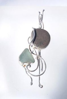 Seaglass treasures from my favorite beach (Black Sands in Aberdour and now also from Largs and Largo), pearls and stones in sea colours set in ornate sterling silver. Sea Colour, Black Sand, Sea Glass Jewelry, Sea Foam, Brooch, Colours, Jewels, Personalized Items, Sterling Silver