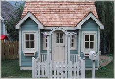 This popular summer cottage style includes double window seats and a french arbor entrance.