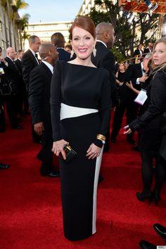 Julianne Moore. Golden Globes, 2013.