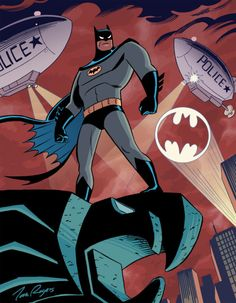 DCAU Batman - Tom Rogers