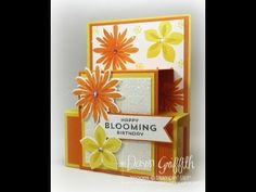 Stampin'Up! Hawaiian Vacation 2015 Blog Hop Step Panel card with Dawn - YouTube