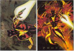 PHOENIX 1994 FLAIR Marvel Power Blast #5 of 18 photo PHOENIX1994FLAIRPOWERBLAST5of18.jpg