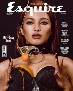 Sarah Lahbati for Esquire Philippines November 2016 Sarah Lahbati, A Martinez, The November Man, Philippine Cuisine, Fashion Cover, Fashion Advertising, Esquire, Erotica, Philippines