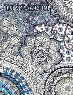 made it by my ownself :) #art #mandala #doodle
