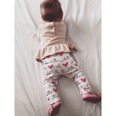 Baby name leggings --Simply Boco Baby on Etsy