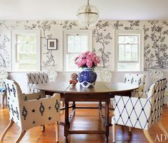 Home Tour: Cindy Sherman's 19th Century East Hampton Farmhouse | Kathy Kuo Home