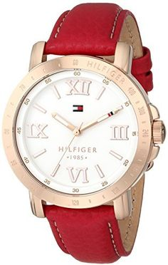 Tommy Hilfiger Women's 1781439 Analog Display Quartz Pink Watch