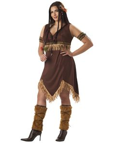 Adult Plus Size Indian Princess Costume,$34.96