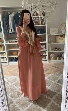 Hijab Style Dress, Hijab Chic, Hijab Evening Dress, Evening Dresses, Abaya Fashion, Fashion Dresses, Estilo Abaya, Morrocan Dress, Mode Abaya