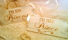 Wedding Signs with Crystals Gold Wedding Decorations Set of 2 Fairytale Wedding Signs, Cinderella Wedding, Royal Wedding Princess Wedding