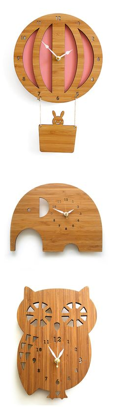 Cute clocks for a child's room